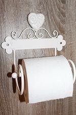 Wc-paperiteline (valkoinen/ruususydän)