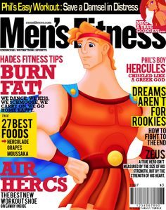 Disney Prince Magazine Covers