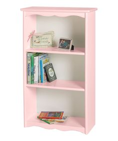 Look at this #zulilyfind! Soft Pink Bookcase by Little Colorado #zulilyfinds
