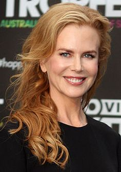 Nicole Kidman, actriz australiana de Hollywood.