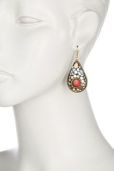 Teardrop Mosaic Earring on @HauteLook