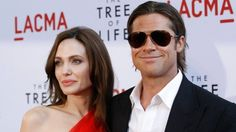 Actors Brad Pitt and Angelina Jolie are married- we take a look at the ten years they've spent together Brad Pitt And Angelina Jolie, Got Married, Pop Culture, Sunglasses Women, Take That, Hollywood, Actors, Couples, Celebrities