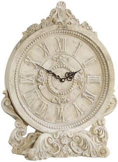 This white French clock French Decor, French Country Decorating, Tick Tock Clock, Antique Clocks, Vintage Clocks, French Clock, Furniture Market, Deco Furniture, Modern Furniture