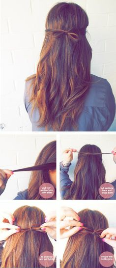 sötaste (och enklaste) frisyr på fem minuter!