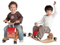 Flip Ride-On Toy by Wishbone, a bike or a rocking toy 2 toys in one