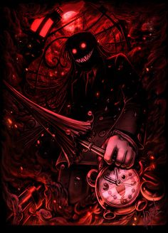 [ Full View Please due to horrible thumbnail compression ] More Hellsing fan art. Wallpapers Geek, Animes Wallpapers, Castlevania Anime, Hellsing Alucard, Van Hellsing Anime, Manga Anime, Anime Art, Rip Van Winkle, Best Anime Shows