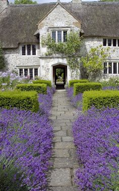 Backyards: Inspiration for Garden Lovers Century Farmhouse, Devon, England! Posted by Century Farmhouse, Devon, England! Posted by www. Beautiful Gardens, Beautiful Homes, Beautiful Places, House Beautiful, Beautiful Flowers, Garden Cottage, Home And Garden, Farmhouse Garden, Manor Garden