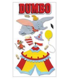 Disney Movie 3-D Stickers-Dumbo & scrapbooking at Joann.com