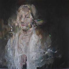 "Saatchi Art Artist Irene Van Den Bos; Painting, ""My Fair Lady 2"" #art"