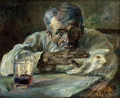 At the Refreshment Bar 1882 Henri de Toulouse-Lautrec (1864-1901/French)