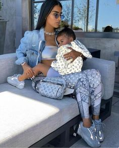 So Cute Baby, Mom And Baby, Cute Kids, Cute Babies, Baby Baby, Family Outfits, Girl Outfits, Cute Outfits, Fashion Outfits