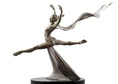 Балет Femme Третья Жизнь   Paige Bradley   Бронзовая скульптура