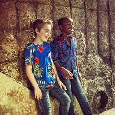 Only where children gather is there any real chance of fun. Mignon McLaughlin #CuttyAfrica #InternationalChildrensDay #boysfashion #style #floral #summer #beach #fun #inspirationalquotes Photo: @dcphotofilm Models: Louis and Joshua from Model Kids
