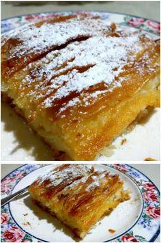 Greek Desserts, Greek Recipes, Cake Recipes, Dessert Recipes, Tasty, Yummy Yummy, French Toast, Ice Cream, Cookies