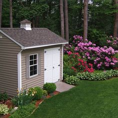 9 Awesome Tool Shed Landscaping Images Backyard Sheds