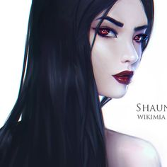 League of Legends Vayne Portrait