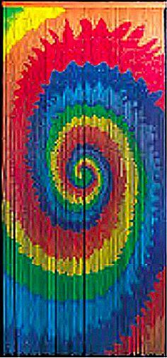 Bamboo Doorway Curtain With Bob Marley Image Bamboo Door Beads