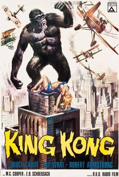 1960s King Kong posters