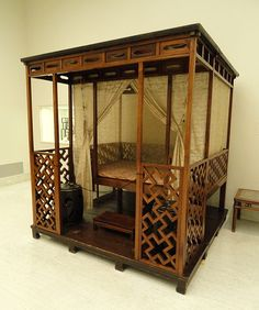 File:Testered Bed with Alcove, Ming Dynasty, 15th-16 century, huanghuali wood - Nelson-Atkins Museum of Art - DSC09140.JPG