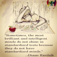 This was me in school but I tell you I'm doing this homeschool thing so my children have it better than I did. I was smart but not if you measure the way the school system did.