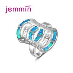 Cheap ring 925, Buy Quality ring for directly from China rings for men Suppliers: Jemmin Trendy Female Opal Ring 925 Sterling Silver Jewelry Natural Stone Wedding Rings For Men And Women Anel Feminino
