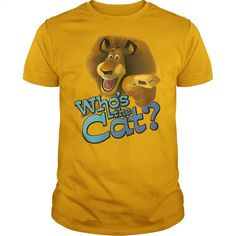 Madagascar – Whos The Cat? T Shirt, Hoodie, Sweatshirts - hoodie for teens #tee #T-Shirts