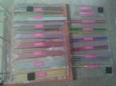 needle organization