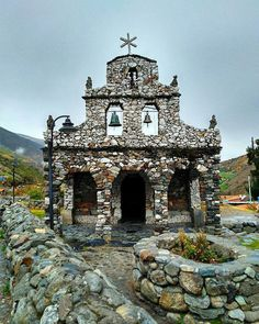 Capilla de Piedra en Mucuchíes. Estado Mérida Venezuela