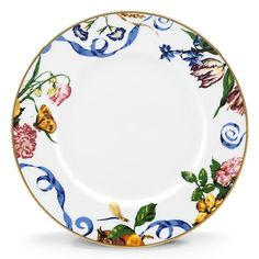Scalamandre Stravagante China Dinner Plate Set of 4 #Lenox