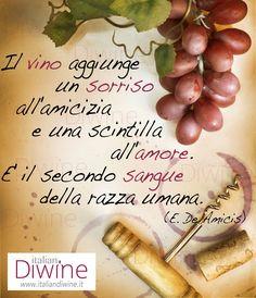 Quote About Wine - Citazione ItalianDiwine 008 #wine #vino #italiandiwine #citazioni #quote #winelover #wineporn #foodporn #italy #madeinitaly #italianwine #redwine #goodwine #berebene #drinkgood #fashion #milano #lifestyle #wineisbetter #vinoitaliano #wein #winetime #socialfood #winesocial #socialwine #pintwine #wineterest #repost