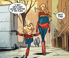 Filipe Andrade - Absolutely love his art for the new Captain Marvel!
