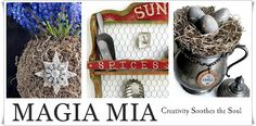 Magia Mia: Woodland Fairy Baskets from Seed Starter Pots Diy Halloween Apothecary Jars, Apothecary Bottles, Halloween Bottles, Chalk Paint Projects, Craft Projects, Fall Halloween, Halloween Crafts, Halloween Candelabra, Paint Brass