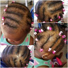 Black Kids Braids Hairstyles, Kids Hairstyle, Natural Hairstyles For Kids, Little Girl Hairstyles, Short Hairstyles, Natural Hair Styles, Little Girl Braids, Girls Braids, Black Baby Girls