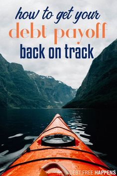 """We were fired up about paying off our debt and then """"life happened."""" Maybe you even started to see some change in your finances but it just wasn't enough to keep you motivated. Let us help you! Debt Repayment, Debt Payoff, Life Happens, Shit Happens, Debt Tracker, Money Problems, Paying Off Credit Cards, Money Plan, Student Loan Debt"""