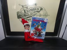 Day 14 with Charlie the elf on shelf  He brought us a new movie!