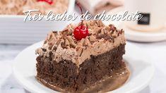 Receta de Torta Tres Leches de Chocolate Fácil y Rápida