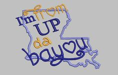 GG1270a From Up Da Bayou by GnGDesigns on Etsy