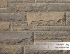 Laurier Building Stone - Midnight Grey