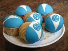 Cup Kombies cupcakes vw #kombilove