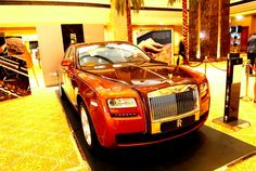 Event at Abu Dhabi's Emirates Palace showcases luxury accessories, high-end cars and limited edition treasures Luxury Cars, Luxury Vehicle, High End Cars, Private Jet, Alloy Wheel, Abu Dhabi, Rolls Royce, Sea Shells, World
