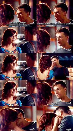 Yay! About freaken time. Rookie Blue S6 E10 favourite scene of Dov & Chloe love these two <3 <3