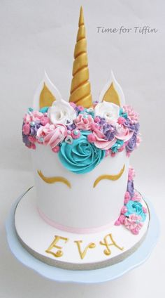 Unicorn cake  by Time for Tiffin