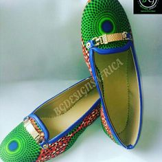 Ankara/African print loafers by Gabells on Etsy African Men Fashion, African Dresses For Women, African Wear, African Women, Mens Fashion, Ankara Fashion, Ghanaian Fashion, Ankara Styles, Fashion Accessories