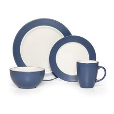Cobalt 16 Piece Dinnerware Set