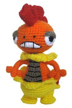 Crochet+Pokemon | Pokemon Crochet: Scrafty by ~ kerryroulston