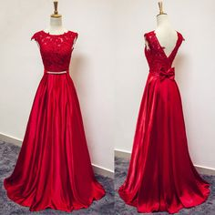 long prom dress, red prom dress, prom dress 2015, elegant prom dress, party prom dress, long evening dress    Description of the long prom dress:    For Material:   lace, taffeta, elastic silk like satin, pongee.    For Colors:  You can choose any color you like from our color chart.  If you can'...