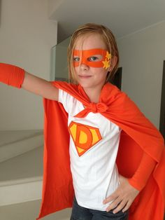 Home made Hero costume