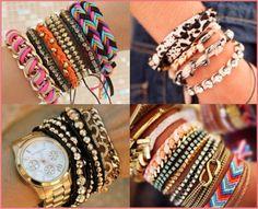 mix de pulseiras, 2014, moda, dicas sugestões, ideias