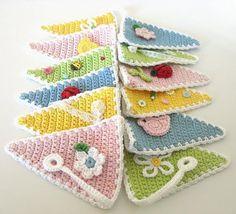 bunting crochet - Google zoeken