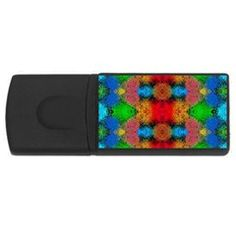 For your Business, Colorful Goa   Painting USB Flash Drive Rectangular (2 GB)  by Costasonlineshop,http://www.cowcow.com/Costasonlineshop?count=240